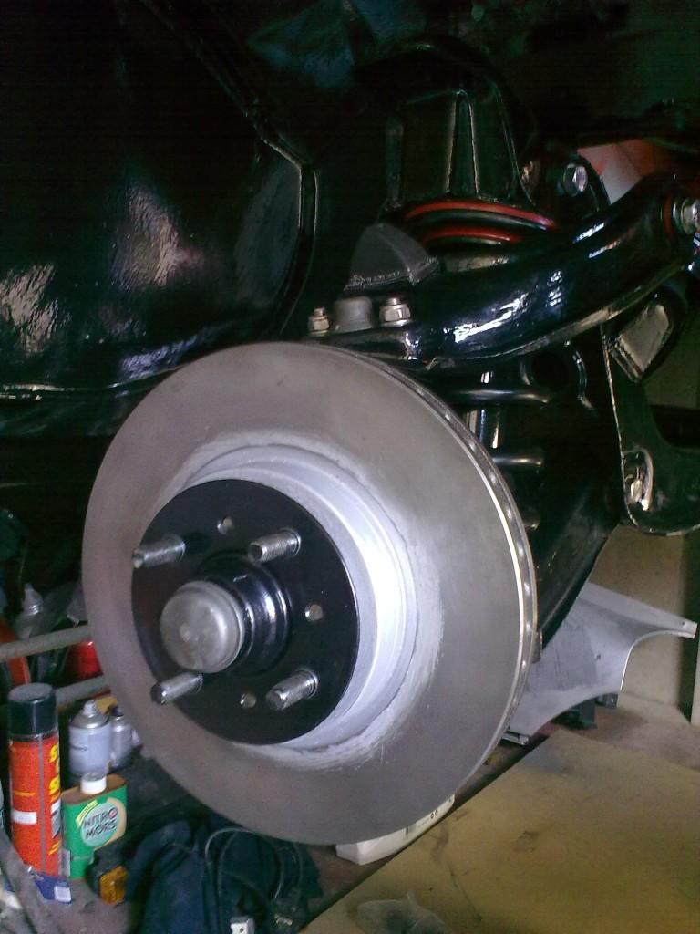 Opel manta a series big front brakes