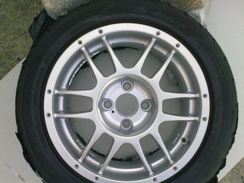 OZ F1 plus wheels refurbished by Rhino Alloys