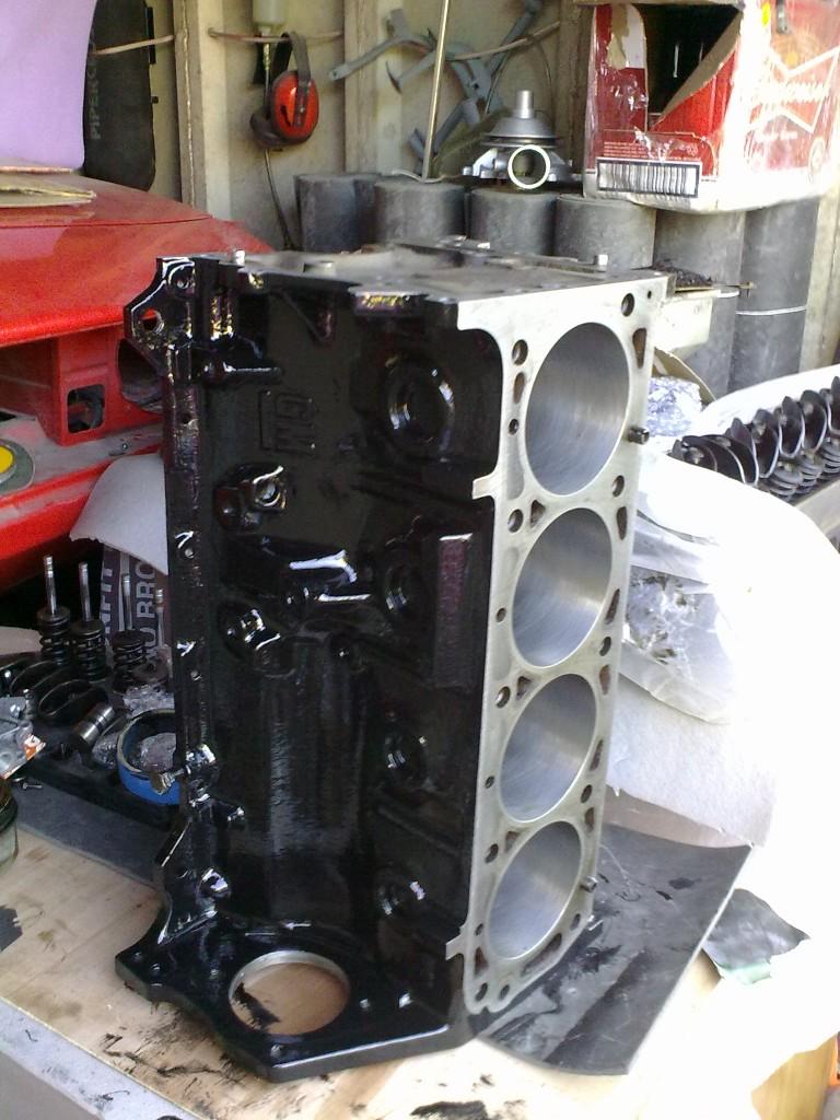 Opel Manta A series engine rebuild