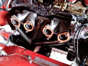 Opel Manta A series 4 into 1 exhaust manifold from Opel GT Source