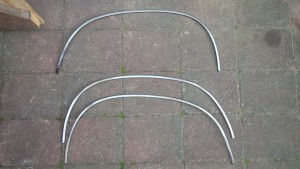 Opel Manta A Series chrome wheel arch trim for sale