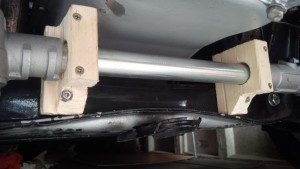 Mini steering rack on Manta A series