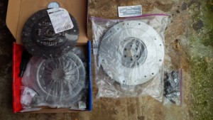 Opel Manta A series Chevy S10 clutch and flywheel kit