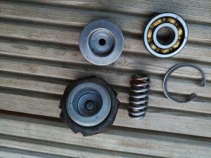 Opel Manta A Series steering rack rebuild