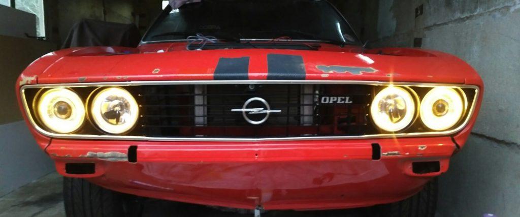 Opel Manta A Series Halo Lights