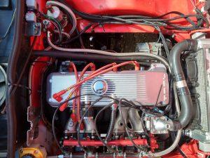 Opel Manta S Series running Omex 600