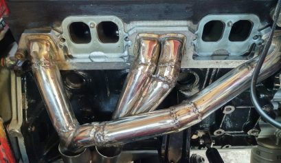 Opel Manta A Series custom made exhaust header