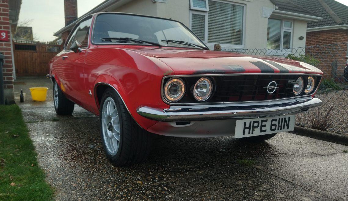 1974 Modified Opel Manta A Series