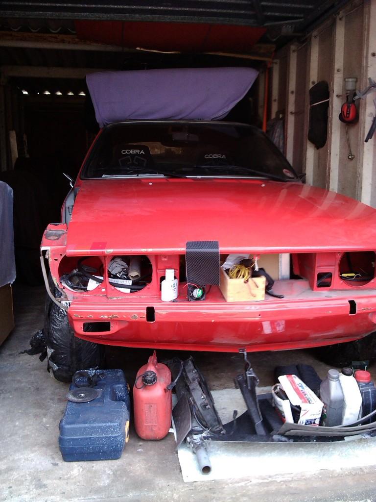 Opel Manta A Series rebuild