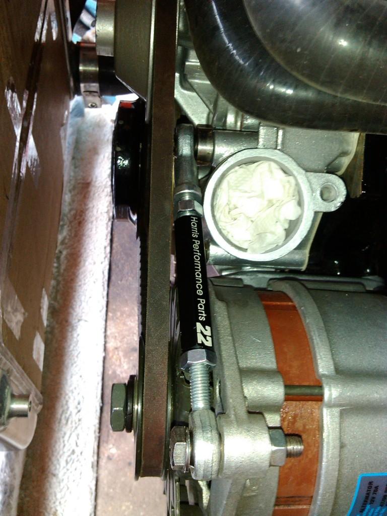Opel Manta alternator adjustor bracket