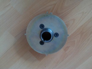 Opel Manta A Series using front pulley from Frontera A with timing disc fitted