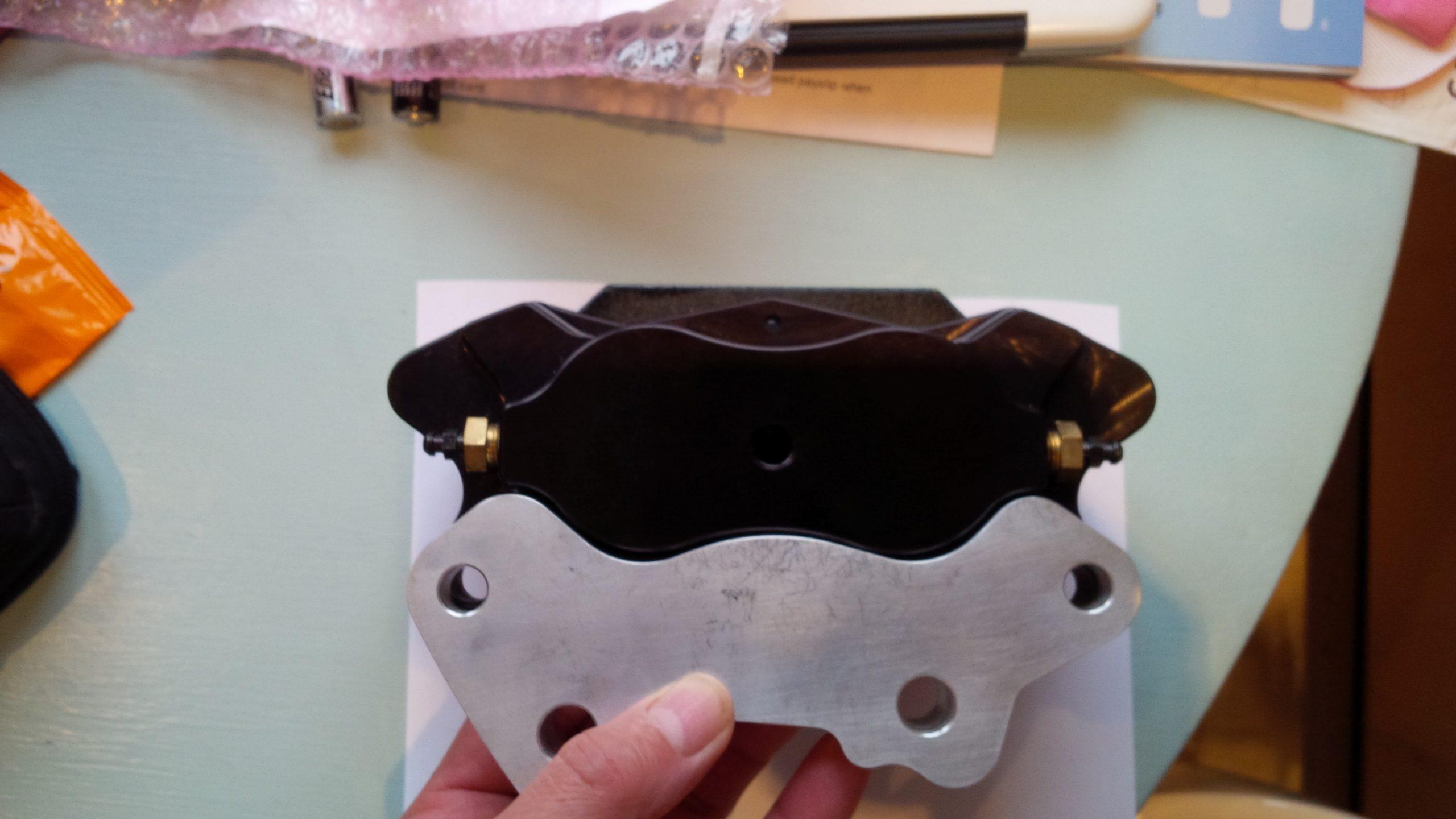 Wilwood brake adapters for Opel manta A series