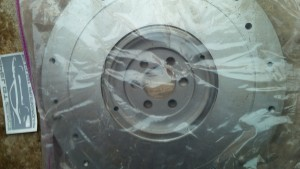 Opel Manta A series Monza flywheel machined to fit Chevy S10 clutch