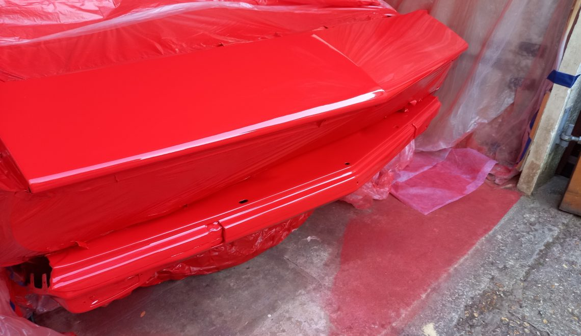 Opel Manta A Series 2K solid red